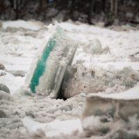 «Эй, там, внизу, держитесь!». Ледяной затор на Катуни