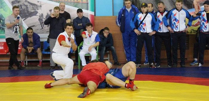 Алтайские пограничники выиграли чемпионат по самбо