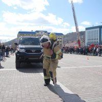 Чемпионат по пожарно-спасательному многоборью провели на Алтае
