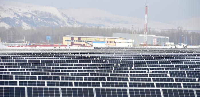 В объекты солнечной генерации на Алтае будут внедряться накопители энергии