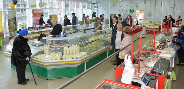 Продукция от фермеров: в Горно-Алтайске открылась постоянная сельхозярмарка и перерабатывающий цех