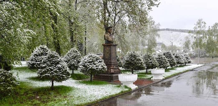 Погода подвела. В мае снизился турпоток в Горный Алтай и Шерегеш