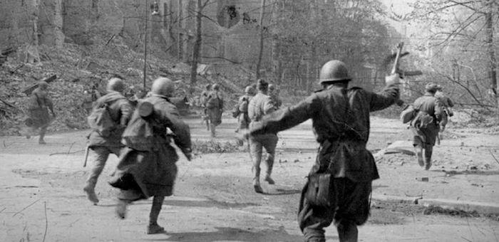 Гвардеец из Паспаула в боях за Берлин