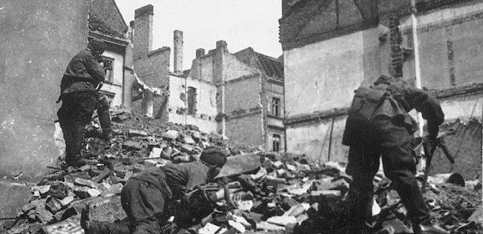 В боях за центр Берлина уничтожил нескольких фашистов