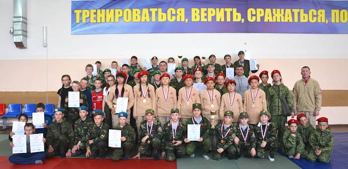 В Горно-Алтайске прошла игра «Зарница»
