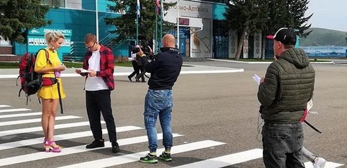 Съемки телепередачи «Орел и Решка» проходят в Горном Алтае