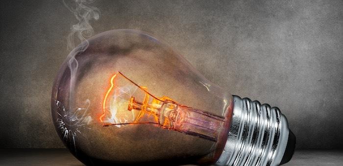 В первом квартале произошло 286 аварийных отключений электроэнергии
