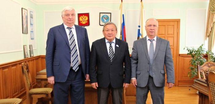 Спикер Госсобрания встретился с заместителем генпрокурора России