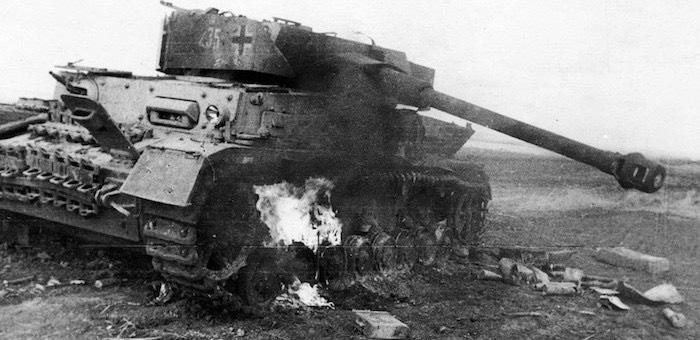 В боях за Русскую Березовку против «Мертвой головы» и «Великой Германии»