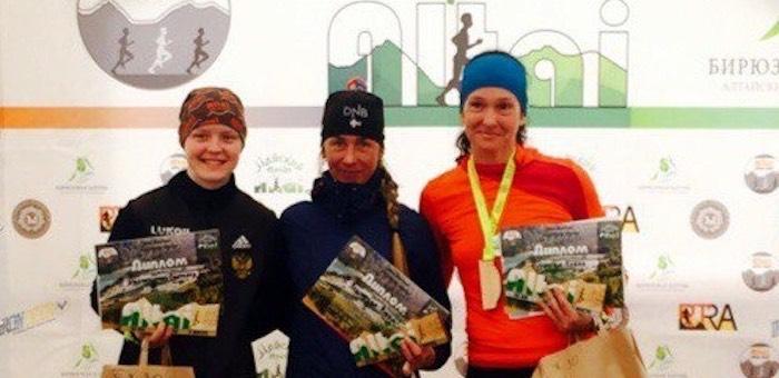 Вера Водолеева победила в соревнованиях по скайраннингу