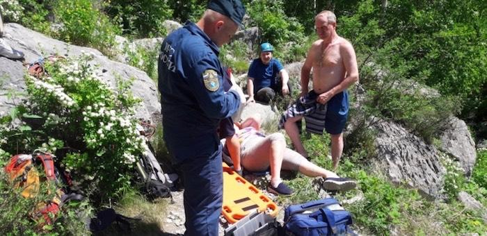 Несколько несчастных случаев произошло с туристами за неделю