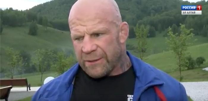 Легендарный боец Джефф Монсон побывал на Алтае