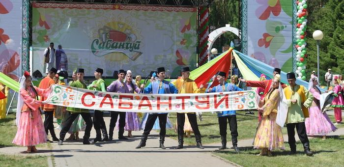Главы трех регионов приняли участие в праздновании Сабантуя на «Бирюзовой Катуни»