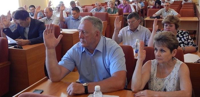 Депутаты городского совета внесли изменения в бюджет