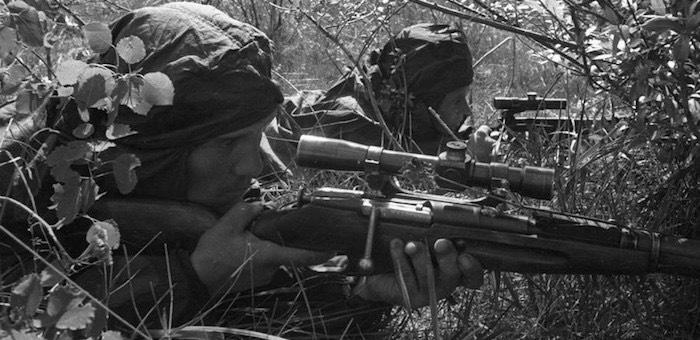 «Первый снайпер в роте» за короткий срок уничтожил 40 немцев