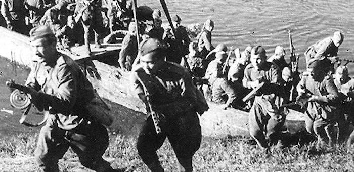 Земляк Чорос-Гуркина в числе первых форсировал Западную Двину