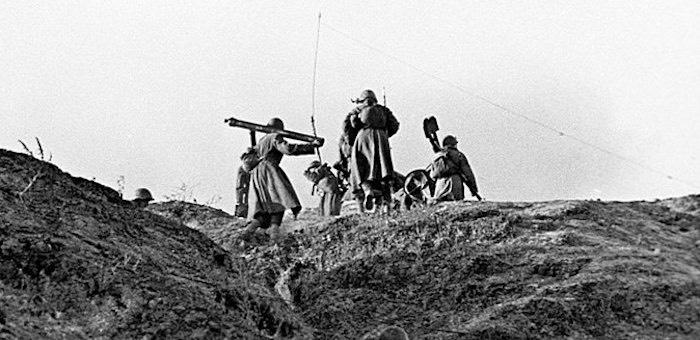 Сорвал наступление фашистов на деревню Сталино