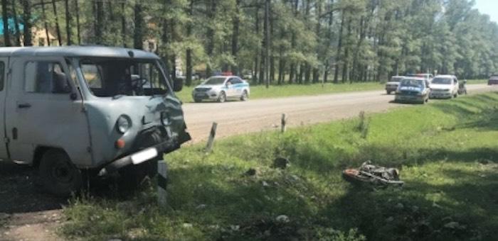 Сбивший насмерть подростка-мотоциклиста житель Чемала отправится в колонию-поселение