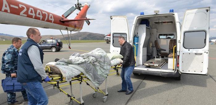 Сотни жизней спасают в Горном Алтае благодаря санитарной авиации