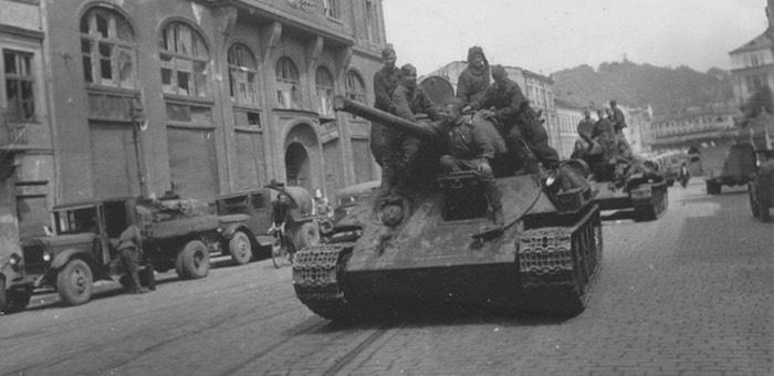 Турочакский танкист на подступах к Львову
