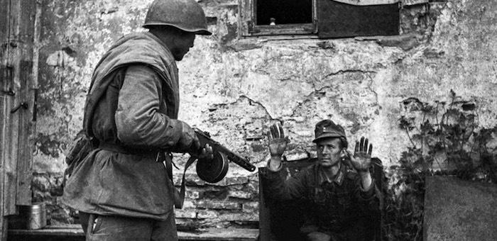 Находчивый сапер из Талды взял в плен немецкого офицера