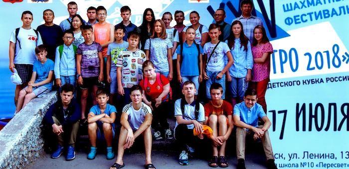 Шахматист из Горно-Алтайска принял участие в международном шахматном фестивале