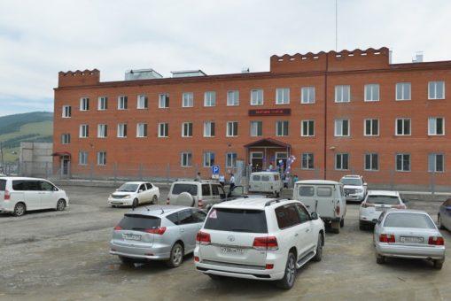 В Улагане открыли новое здание райотдела полиции