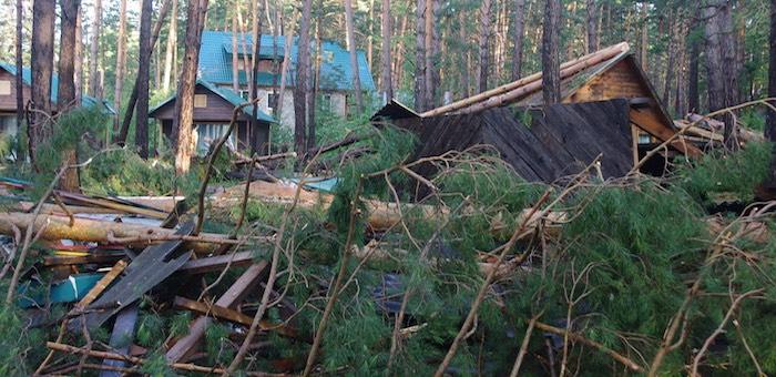 Пятница, 13-е. Ураган обрушился на Горный Алтай