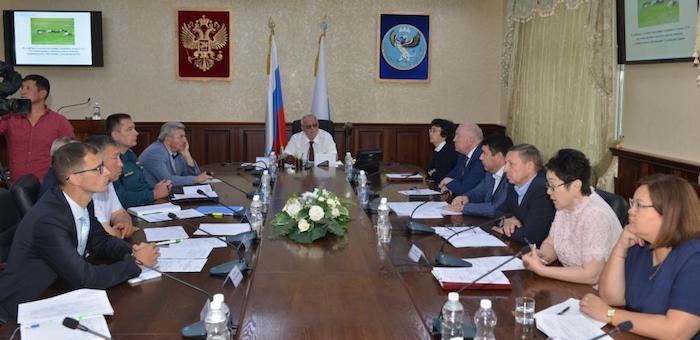 В правительстве обсудили программу социально-экономического развития Акташа