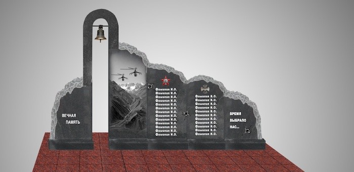 Лучший проект памятника погибшим при исполнении воинского долга выбрали в Горно-Алтайске