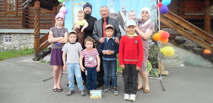 Президент наградил семью Тайченачевых орденом «Родительская слава»
