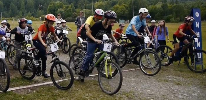 Завершился первый этап кубка Горно-Алтайска по горному велосипеду
