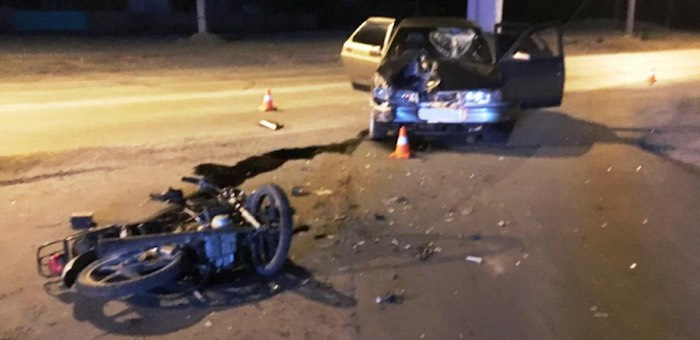 В Кош-Агачском районе в результате ДТП погиб мотоциклист