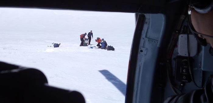 Кемеровских туристов спасатели сняли с Белухи