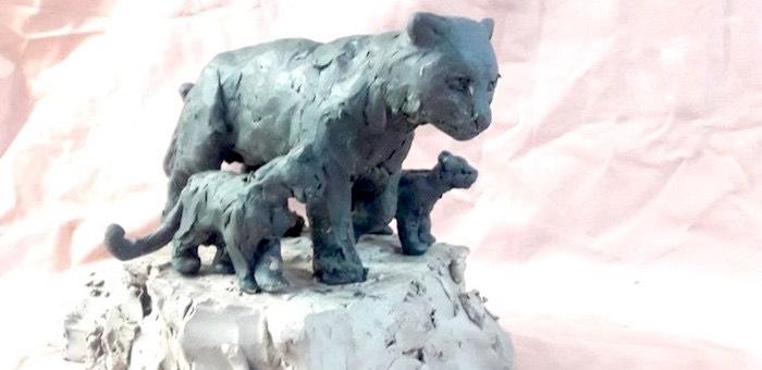 Первую в России статую снежных барсов установят в Горном Алтае