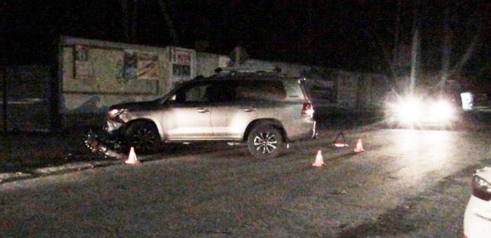 В Чемале подросток на мотоцикле протаранил 200-й «крузер» из Барнаула