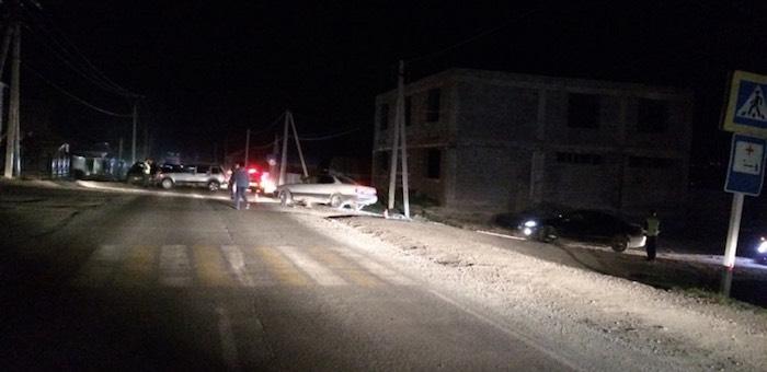 В Усть-Кане полицейские нашли водителя, сбившего пешехода и скрывшегося с места ДТП