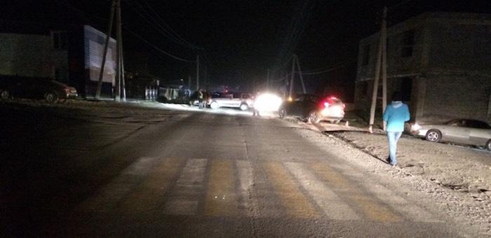 Разыскивается автомобиль, сбивший пешехода в Усть-Кане