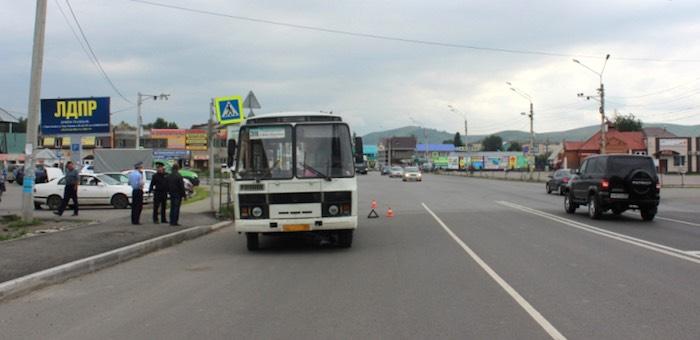 Автобус сбил восьмилетнего велосипедиста на пешеходном переходе