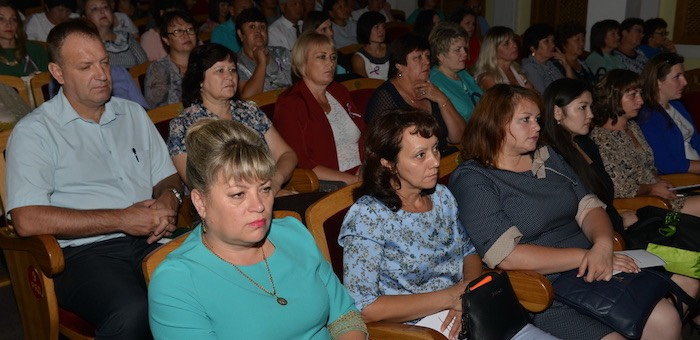 Августовское совещание педагогов прошло в Горно-Алтайске