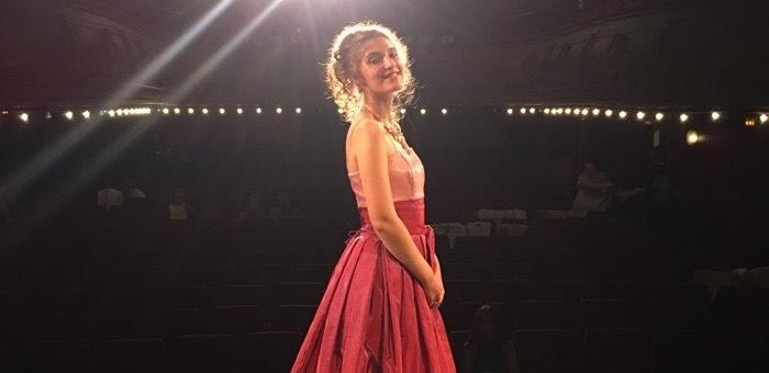 Арина Веревкина успешно выступила в Париже