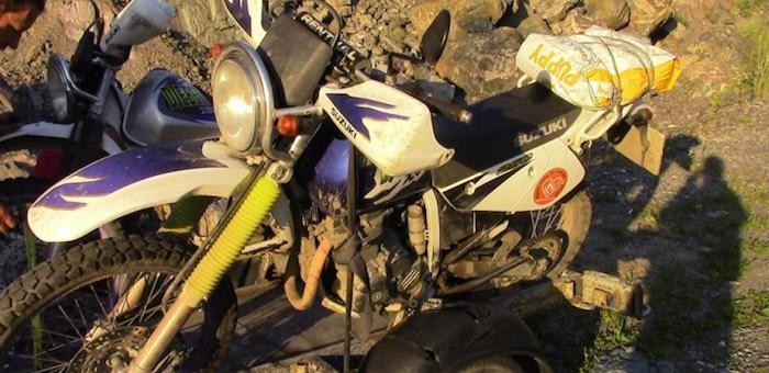 Мотоциклист из Москвы попал в аварию на Чуйском тракте