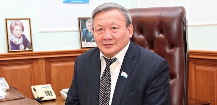 Владимир Тюлентин принимает участие в заседании Совета законодателей Сибири