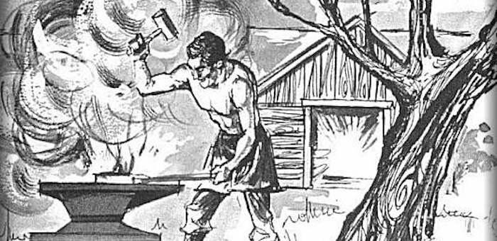 Первые кузнецы появились на территории Горного Алтая еще до нашей эры