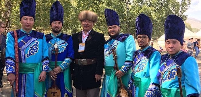 «Сказители Алтая» приняли участие в фестивале «Вселенная кочевников»