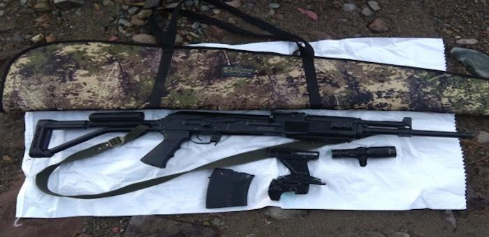 В Артыбаше мужчина обстрелял из ружья туристов, а потом полицейский катер