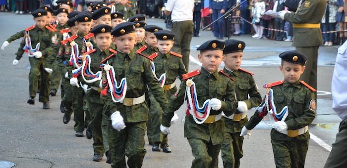 Новые кадетские классы открылись в школах Горного Алтая