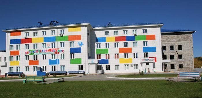 Второй корпус республиканской детской больницы построят в Горно-Алтайске
