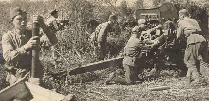 Бесстрашный артиллерист из Белого Ануя