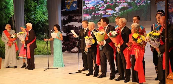 Торжественное собрание по случаю 90-летия города прошло в Горно-Алтайске